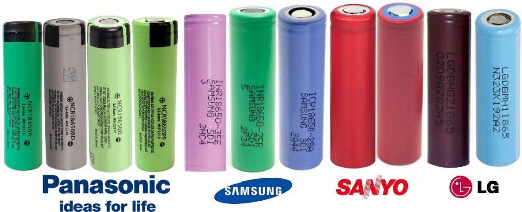 baterias Nicd de diversos fabricantes
