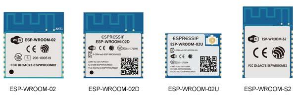 El grupo de módulos Wi-Fi basados en el chip ESP8266