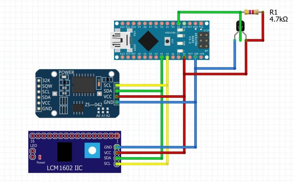 Diagrama del proyecto arduino
