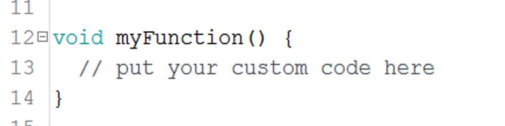 Funciones en Arduino