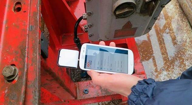 Medición de sistema RFID de equipos para producción de petróleo