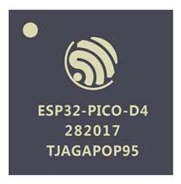 """ESP32-PICO-D4 es el único módulo de encapsulado tipo """"chip""""."""