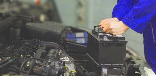 corriente de fuga en batería-coche