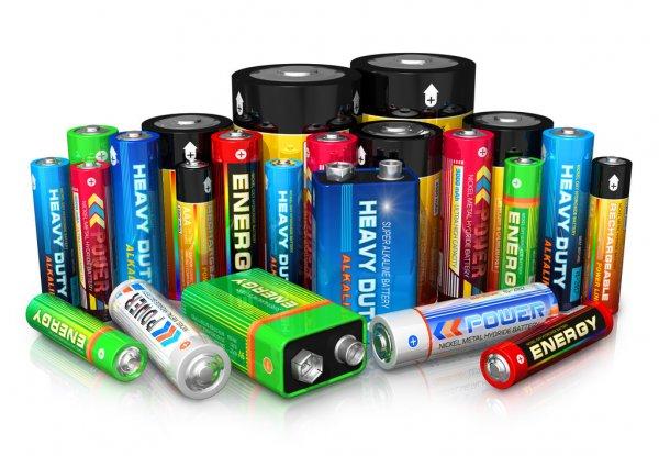 diferentes tipos de baterias