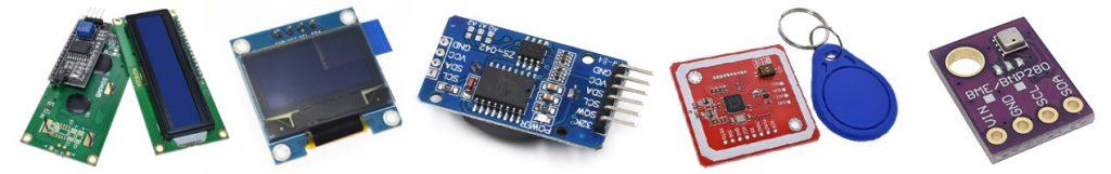 Pequeños sensores de protocolo