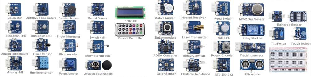 Interfaces sensores para arduino